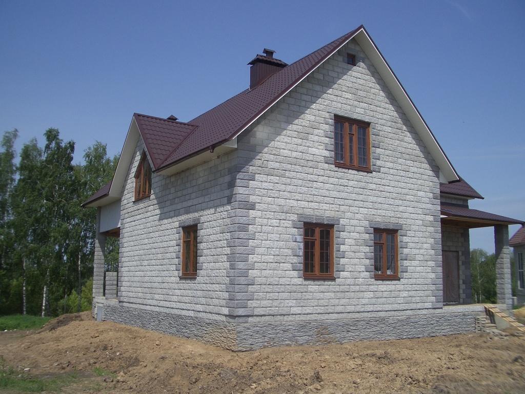 Построить дачный домик из пеноблоков